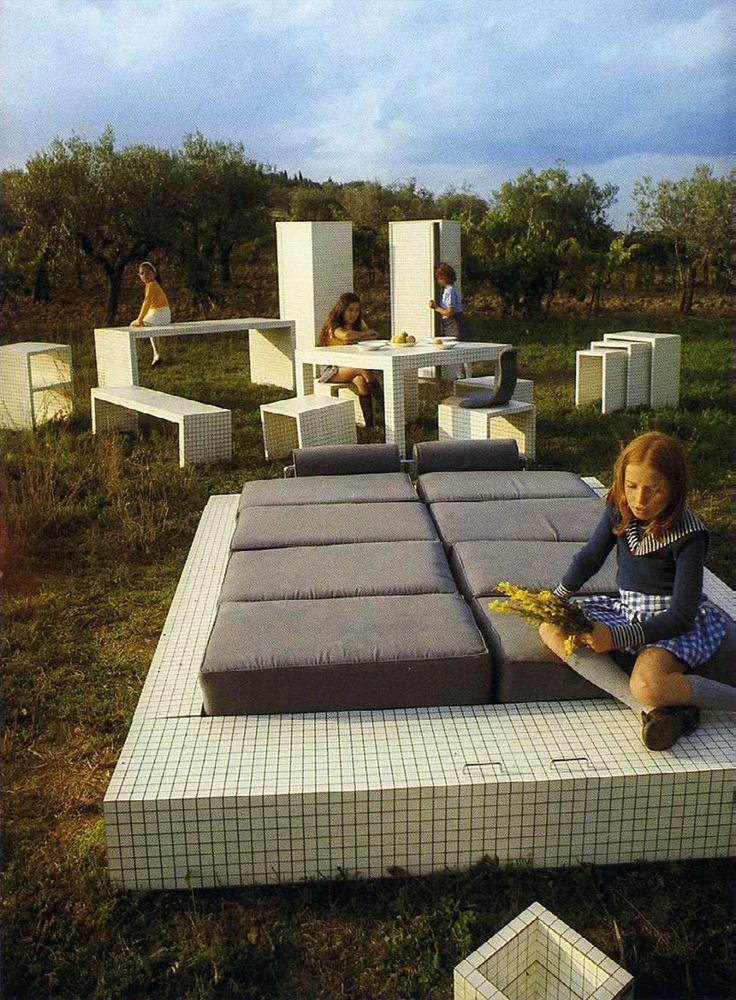 misura furniture | SUPERSTUDIO 1970
