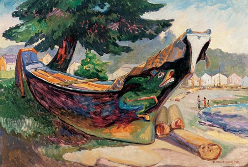 Indian War Canoe (Alert Bay) - Emily Carr
