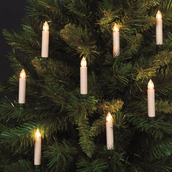 Lotti Led Baumbeleuchtung Mit Fernbedienung 10 Kerzen