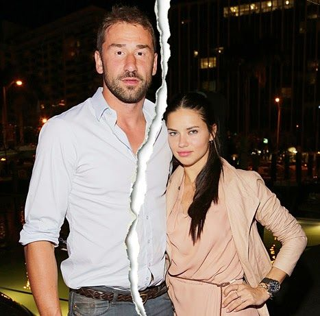 the other paper: Adriana Lima and Marko Jaric separate after five y...