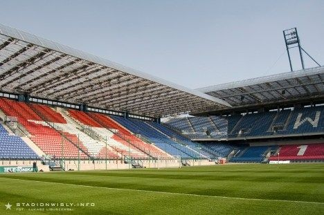 Galeria Zdjęć - Budowa - Zachodnia W Obiektywie - Zdjęcia Nowego Stadionu - Stadion im. Henryka Reymana - Wisła Kraków