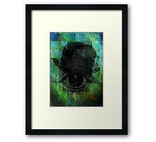 A VERY PRIVATE EYE surreal digital art by mimulux patricia no Framed Print