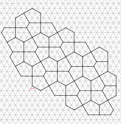 non regular pentagon tessellations | Eric Gjerde