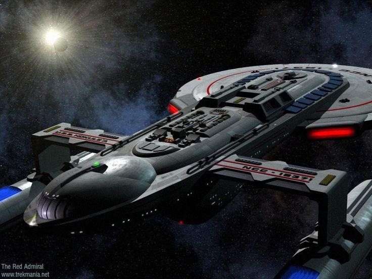 Futuristic battleships star trek props remen pistols for Wohnung star trek design
