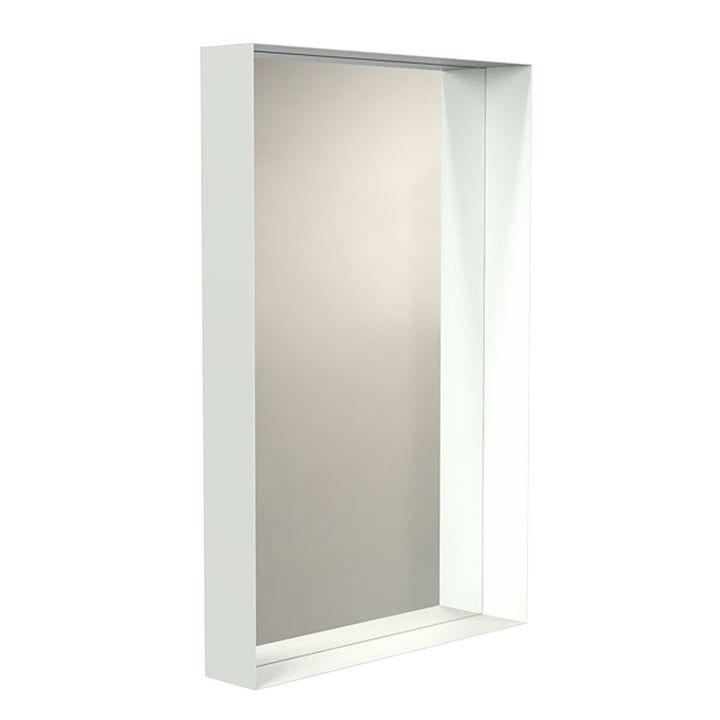 Frost Unu Wandspiegel 4128 Mit Rahmen 60 X 90 Cm Weiss