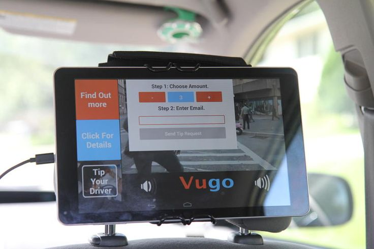 Before now, all tips for Uber drivers had to be done in cash. But in-car advertising company Vugo is hoping to change that by adding a gratuity feature to its app.