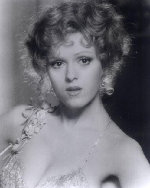 Bernadette Peters,I have always loved her. What style, beauty and class!