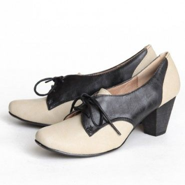 I'm not a fan of traditional oxfords, but these I like! I picture them more casual, with wide loose linen pants