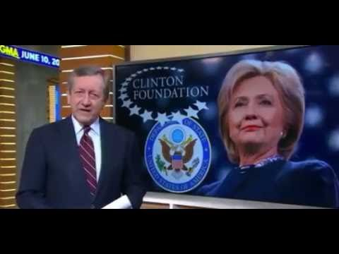SHOCKER! Clinton Caught by ABCNews ON CAMERA Pay-to-Play ?!! Nuclear Nightmare? - YouTube Wake up-this evil actress sells out America to anyone who will pay, how is that not treason??
