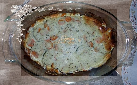 Dieta wątrobowa: zapiekanka a'la lasagne bez makaroku i beszamelu