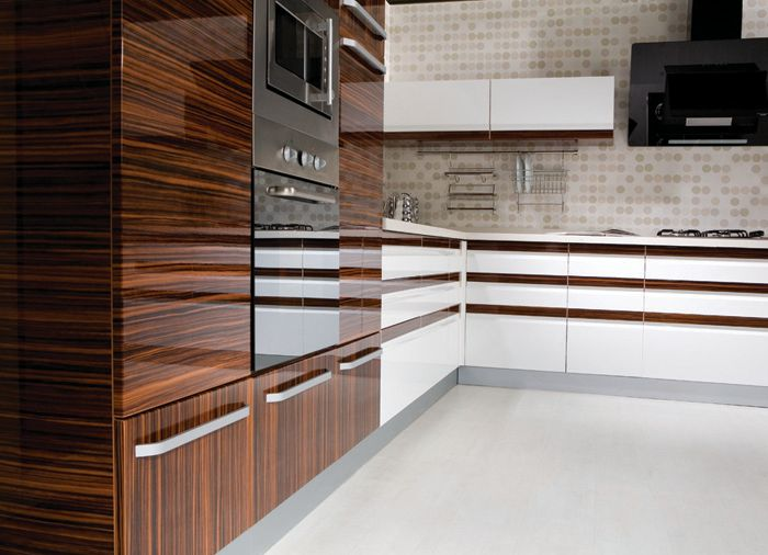 Find This Pin And More On For The Home Modern Kitchen With Contemporary High Gloss Kitchen Cabinet