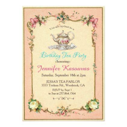 Best  Tea Party Invitations Ideas On   Afternoon Tea