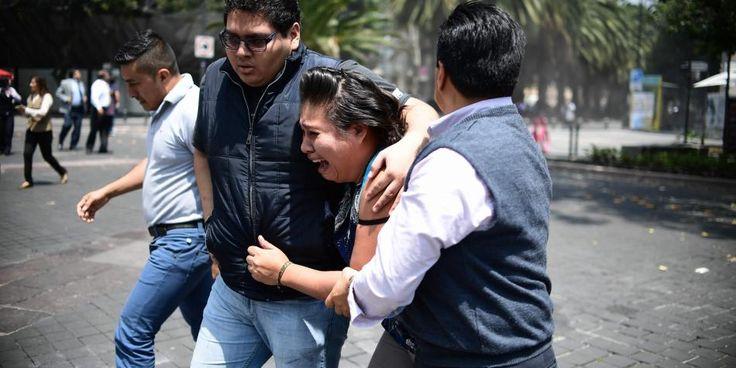 (Video) Un nuevo terremoto provoca el derrumbe de un edificio en México - Radio Agricultura