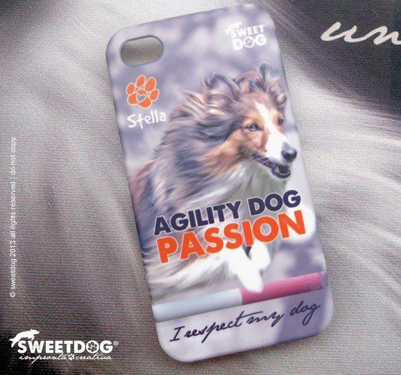 Dog: Stella (Shetland Sheepdog - Sheltie) | Personalized iPhone cover | Cover iPhone personalizzata con il tuo cane