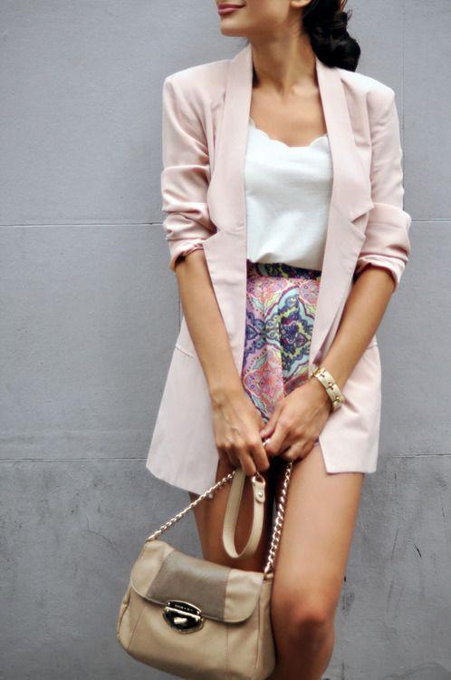 Pastel Blazer. TopShelfClothes.com