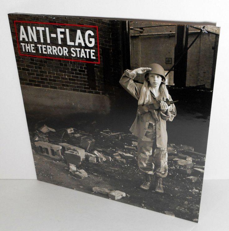 ANTI-FLAG terror state LP Sealed Vinyl, w/ rage against the machine Tom Morello #punkPunkNewWave