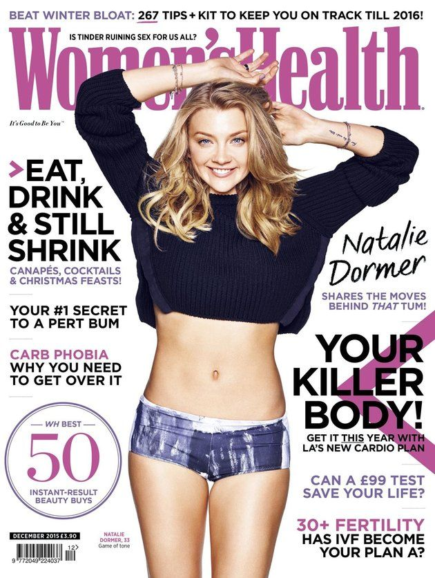 Natalie Dormer Reveals Impressive Abs On Women's Health Cover