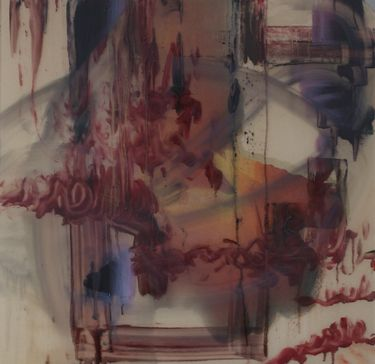 "Saatchi Art Artist April Zanne Johnson; Painting, ""Locus Coeruleus"" #art"