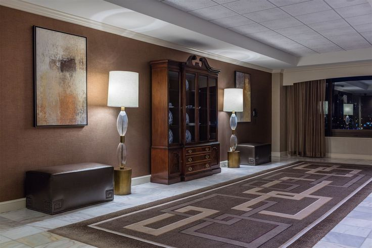 Royal Sonesta Harbor Court Baltimore, Baltimore, USA. It was a pleasure to supply a variety of chandeliers, sconces and lamps for the massive renovation of the hotel. #lighting #design #interior #hospitality #hotelroom #lamp #crystal #glass #fabric