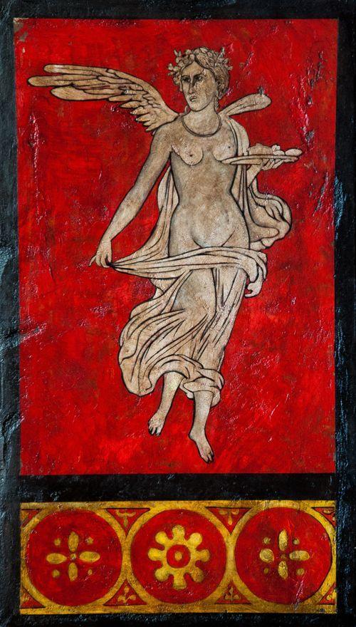 Pompeje fresk