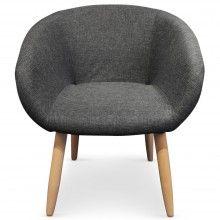 chaise style scandinave matelassecoloris tissu gris foncla chaise frost est une chaise au design scandinave trs la mode matelasse pour plus de - Fauteuil Gris Pour Chambre