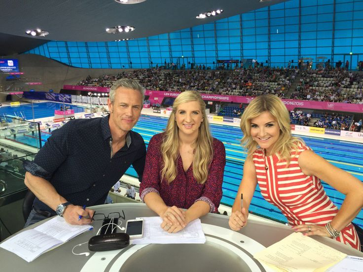 Rio Olympic swimming with Mark Foster, Becky Adlington and Helen Skelton