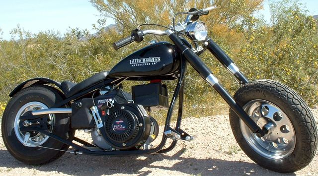 this is the 2012 Model. The Little BadAss is an astonishingly beautiful and well handling Mini Motorcycle