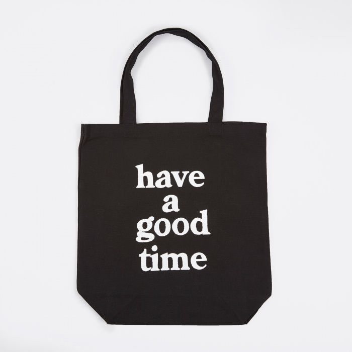 Have A Good Time Tote Bag - Black (Image 1)