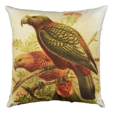 Prestige Kaka Parrot Cushion Multicoloured 45 x 45 cm