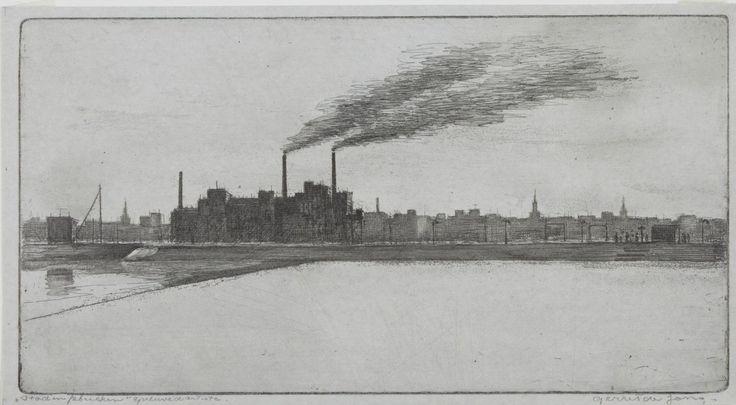 Gerrit de Jong - Stad en fabrieken (1922-1978)