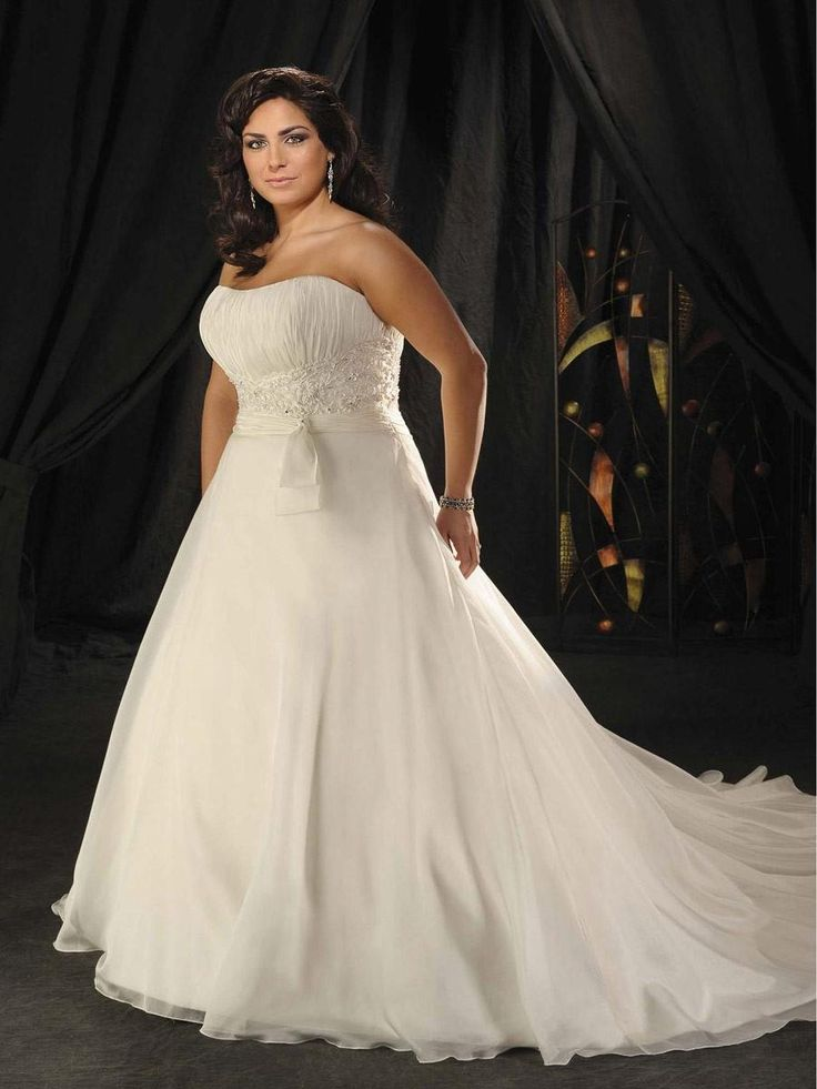 89 best images about wedding dresses full figure on for Full size wedding dresses
