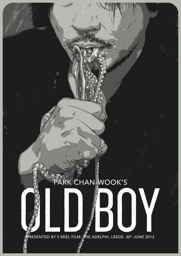 oldboy by ghostco aka matthew woodson, this is fantastic! Raw Octupus.  Favorite Movie Ever