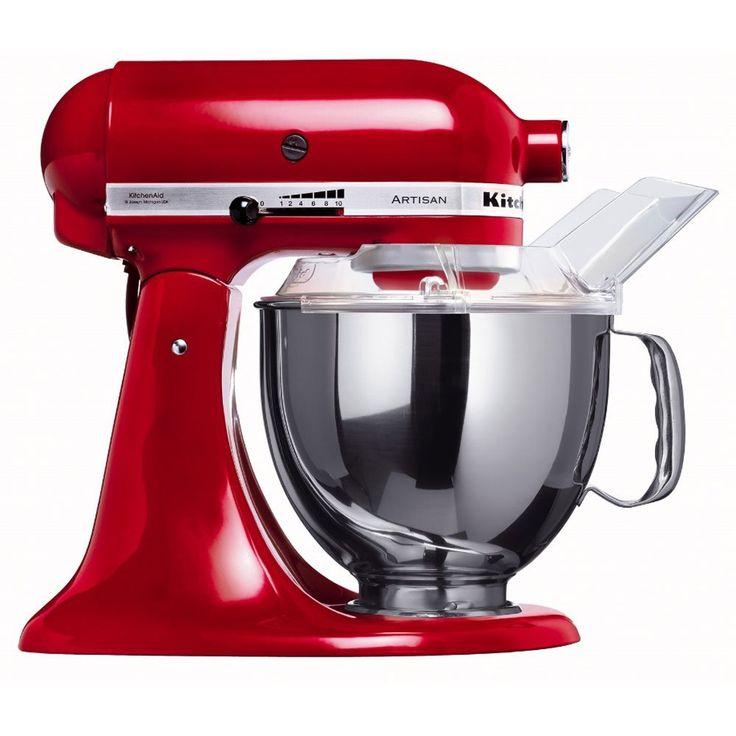 """Idee Regalo di matrimonio... Il Robot da Cucina Kitchenaid Artisan 5KSM150PSEER, nella sua versione """"in Rosso"""""""
