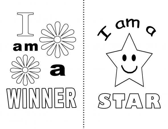 The Affirmations Coloring Book : Affirmation coloring page affirmations to