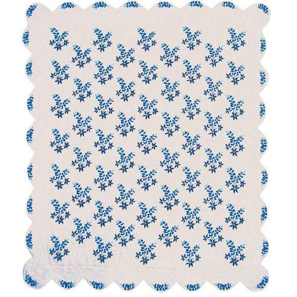 Bonnets Single Reversible Quilt In 2020 Patch Magic Reversible Quilt Quilt Sets Blue