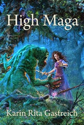 The Edible Bookshelf: Guest Post with Karin Rita Gastreich (author of High Maga). Love this series!!!