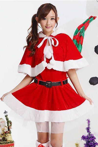 サンタさんコスチューム 可愛い クリスマススカート クリスマスコスプレ衣装