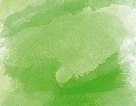 Acuarela, Verde, Pintura