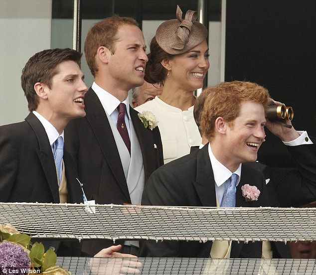 Epsom Derby 2011: Kate Middleton sparkled, Princes William and Harry looked dapper | Mail Online