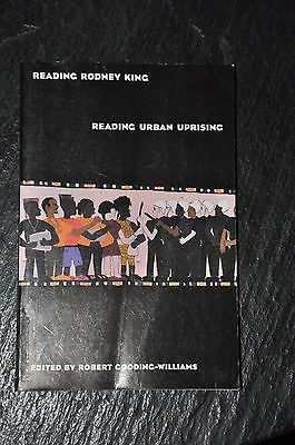Reading Rodney King Reading Urban Uprising Edited by Robert Gooding-Williams Published by Routledge. No writing or highlighting in the text. Light crease down the front cover (pictured). Spine is un-c