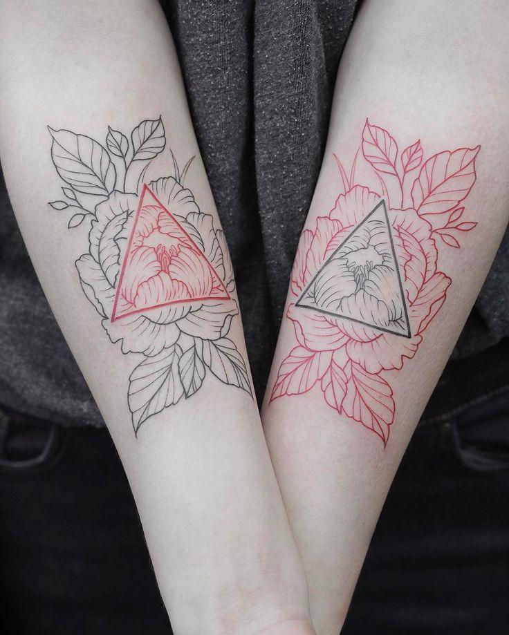 A lil throwback couple tattoo idea.