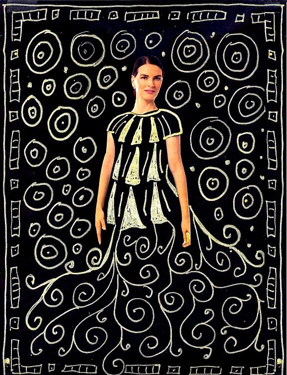 kids art projects | ... with a Gustav Klimt inspired art project from Art Projects for Kids
