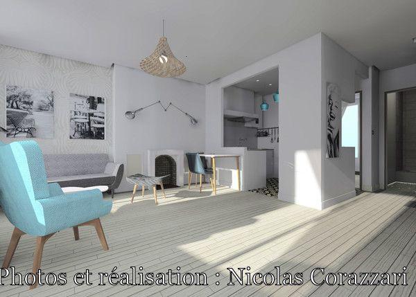 Appartement Versailles-Chantier - 43 m², Nicolas Corazzari - Côté Maison Projets
