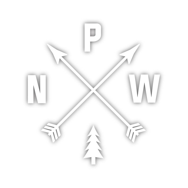 """Based on our ever popular PNW Womens Tank is our PNW Arrows Diecut Sticker! Printed in the U.S.A. This sticker is perfect for your car, water bottle, laptop or whatever you can think of! Size: 4.5"""" x"""