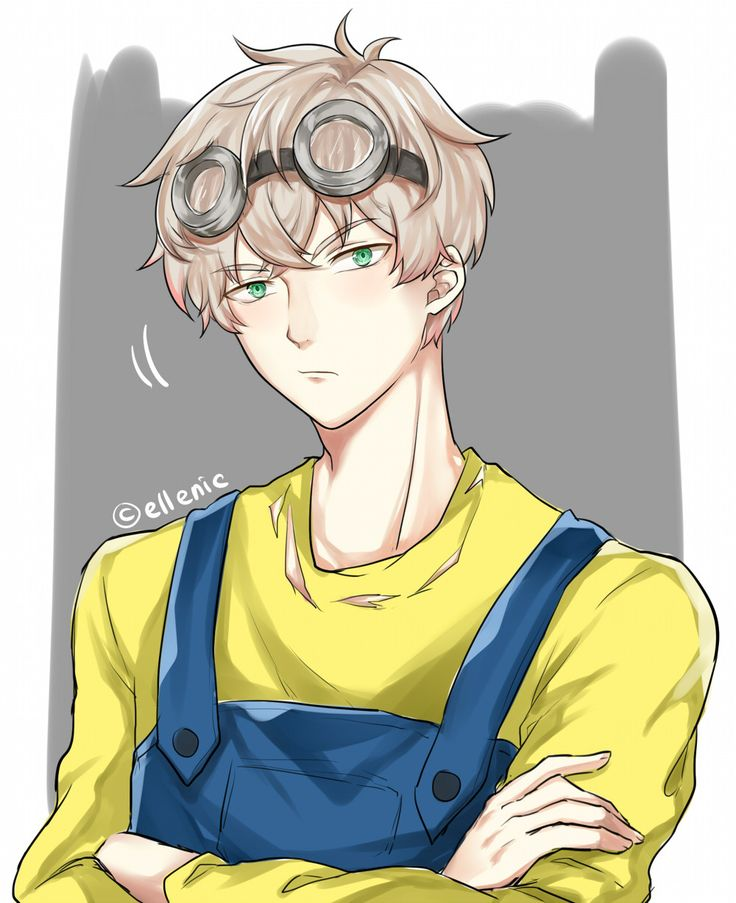 Random doodle. Saeran as minions xD I got major artblock for 3 days already, help me :') It's been so loong since I did digital drawings I forgot how to digi.. And yes I doodled Seven's version too with bananas and stuff lol but I lost motivation in...