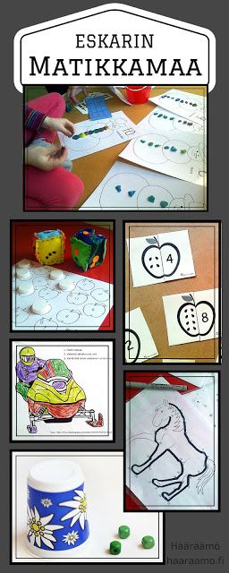 Matikkamaa - matematiikan pistetyöskentelyä esikoulussa
