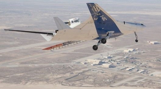 NASA's Blended Wing prototype reconfigured for extra hush