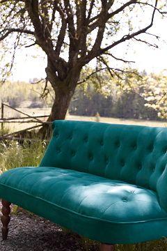 Ellos Home Tummanvihreä Mystiq-sohva