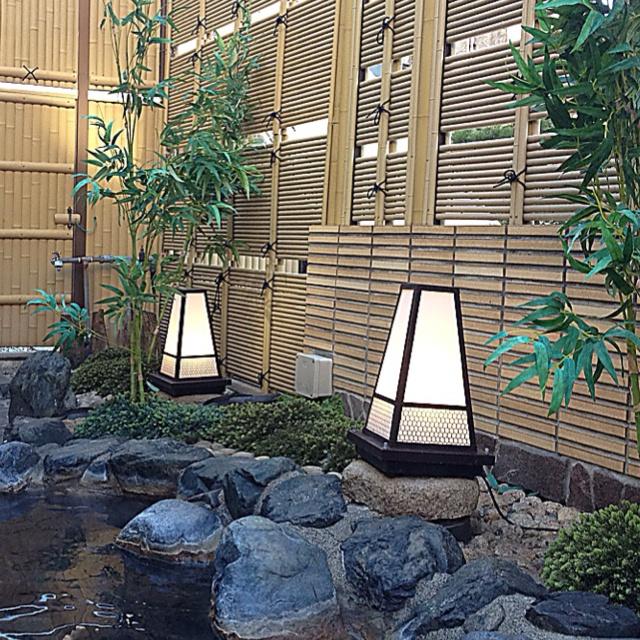 Japanese onsen.