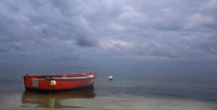 Seychelles Sunset Boat